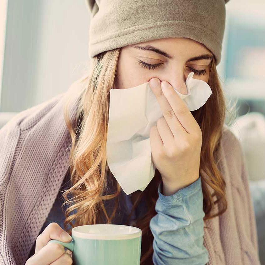 So überstehen Sie die Erkältungszeit