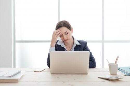 Stress stresst die Figur